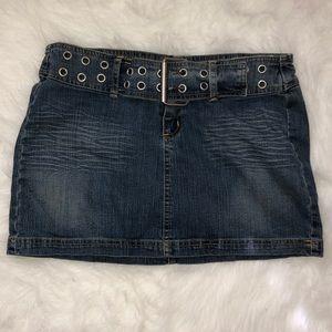 Rampage 💜 Mini Denim Skirt 💜